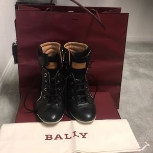 Wedge Sneakers authentic Bally size 6.5
